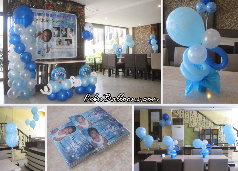 Christening Packages Cebu Balloons And Party Supplies