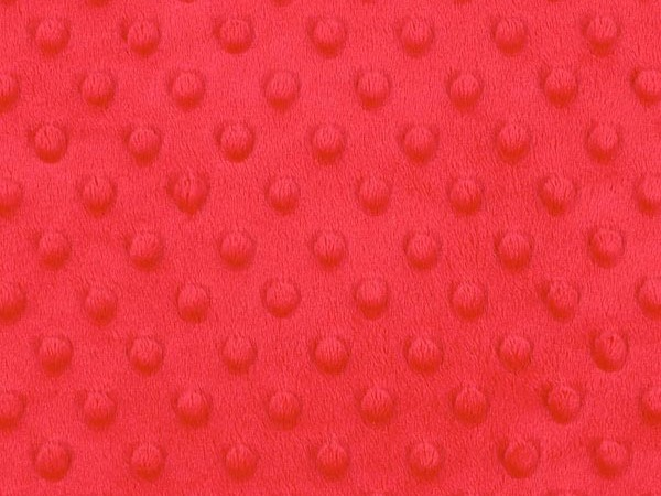 Minky pois rouge