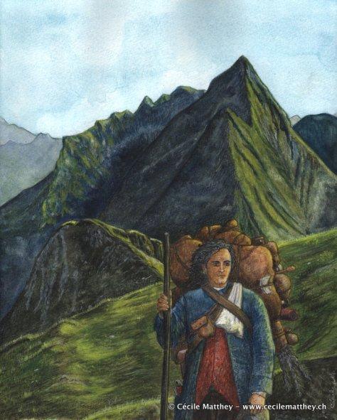 Maodez, illustration pour « Le retour d'Achal Kaalum » de Gaëlle Vadi (inédit)