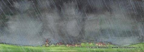 """Illustration pour """"Le retour d'Achal Kaalum"""" de Gaëlle Vadi (inédit)."""