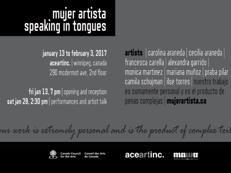 Mujer Artista: Speaking in Tongues