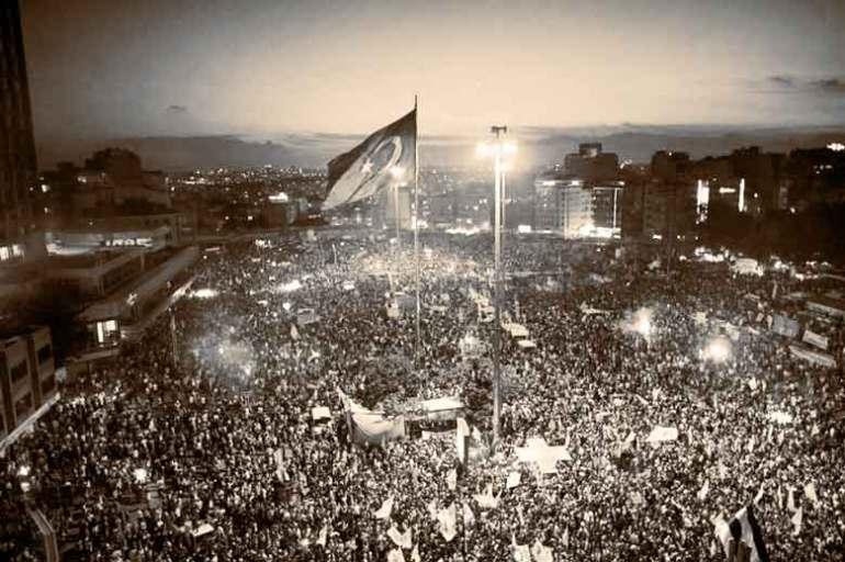 Protestas en la Plaza Taskim de Estambul