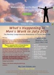 Cecil's Men's Hub Event Newsletter ~ Volume 4, Issue 1