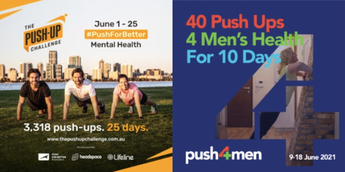 The Push-Up Challenge and Push-4-Men