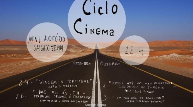 Ciclo de Cinema em colaboração com a Amnistia Internacional