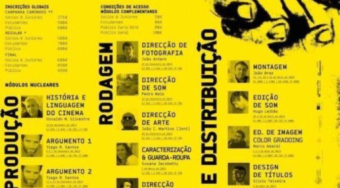 """4º Curso """"Cinemalogia— Da Ideia ao Filme"""""""