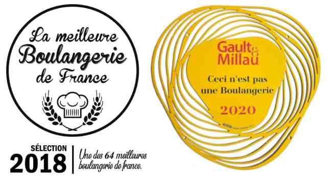 Meilleure Boulangerie et Gault et Millau 2020
