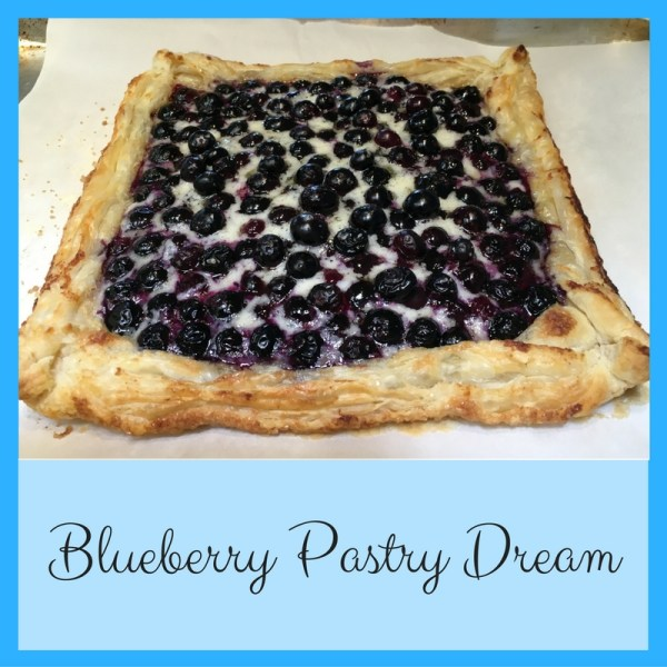 Blueberry Pastry Dream