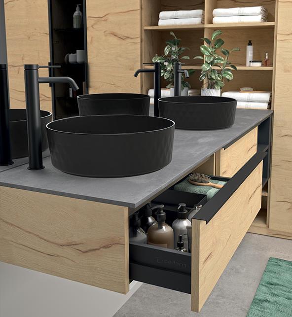 plan de toilette fin vasque meubles