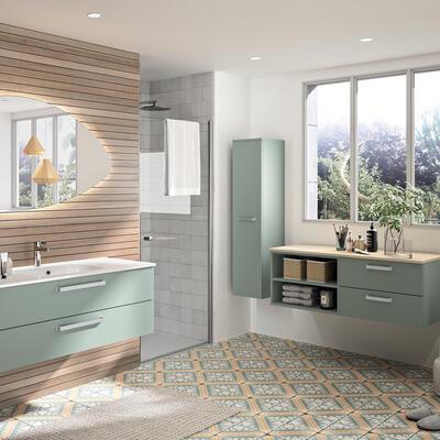 meubles de salle de bains baignoires