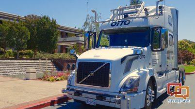 self driving trucks