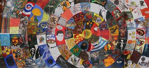 Cuba colectiva mural