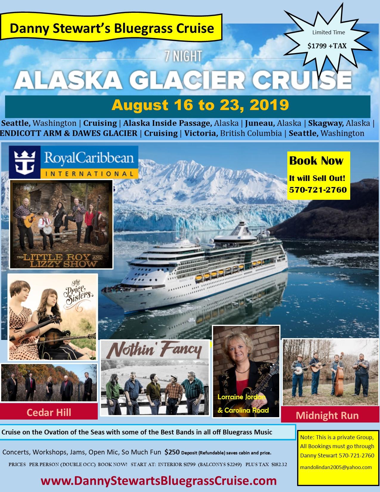 Alaskan Bluegrass Cruise with Cedar Hill