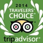 2014 Trip Advisor Traveler's Choice