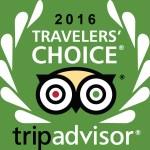 2016 Trip Advisor Traveler's Choice