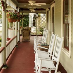 Cedar House Inn - Front Porch 01