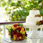 Cedar House Inn wedding - Porch Cake