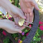 Bill and Michelle Hunter Cedar House Love Lock