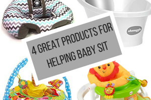 4 Great Products to Help Baby Learn to Sit
