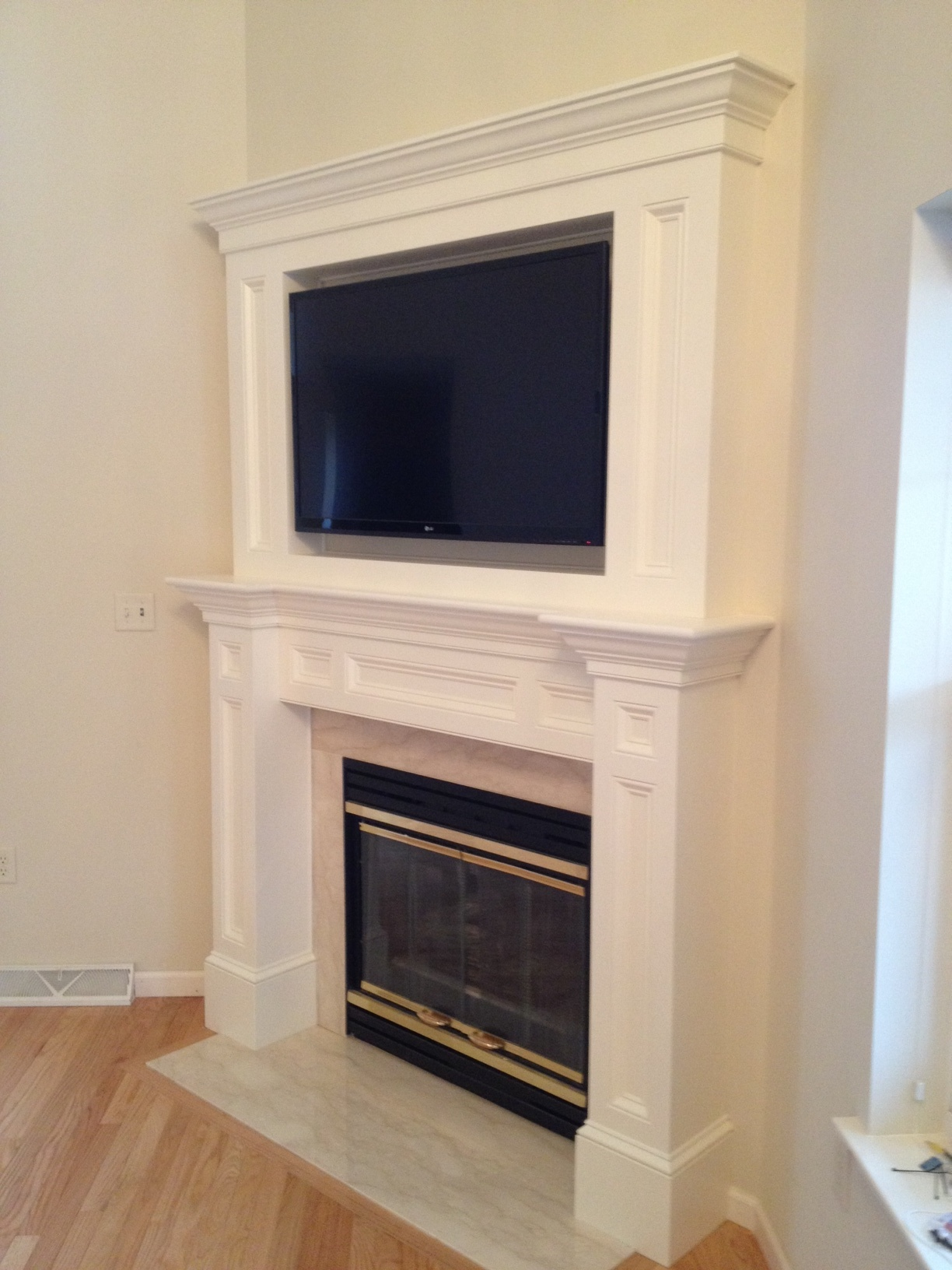 fireplace tv solution cedars woodworking u0026 renovations