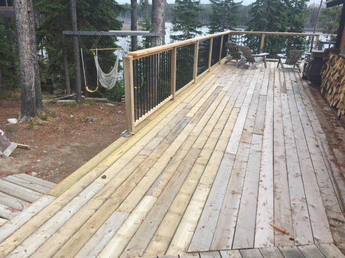 Finished-deck