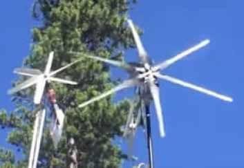 Two-Wind-Turbines
