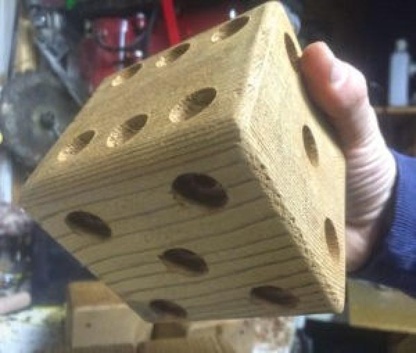Yardzee_lawn_dice_holes_drilled