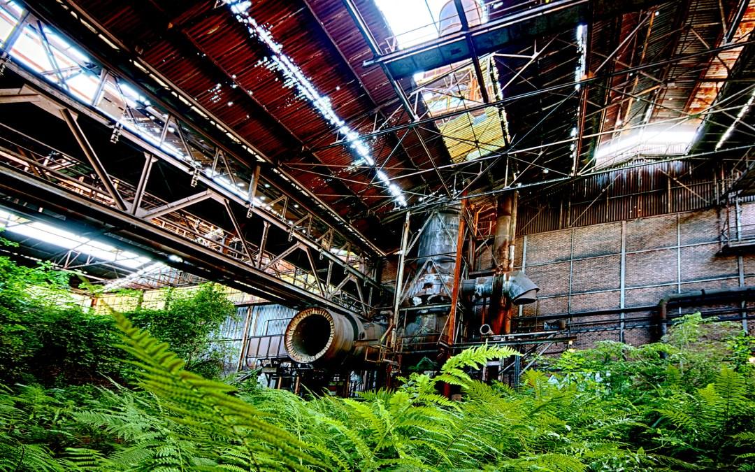 Une de ces usines abandonnées