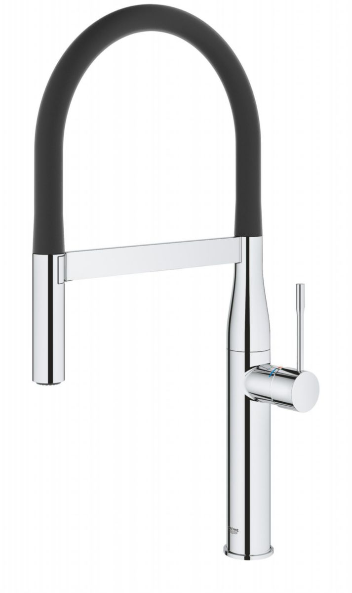 grohe mitigeur evier essence semi pro