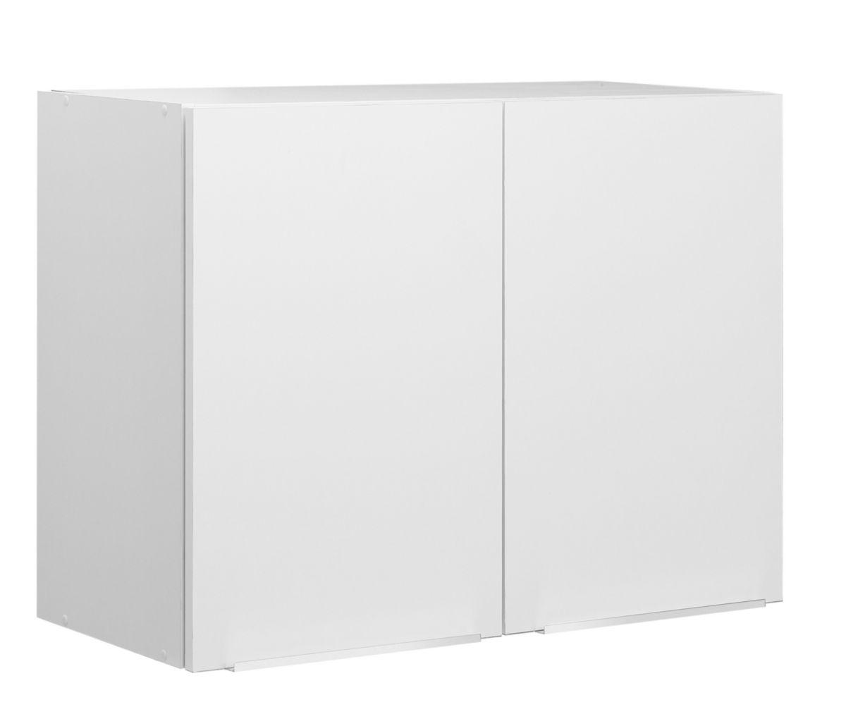 Moderna Meuble Haut Boreale Ou Cadette Melamine Simple 2 Portes Largeur 80 Cm Ref Ascp080d05 Cedeo
