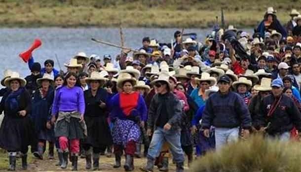 Pronunciamiento de la Gran Marcha por el Agua y por la Vida