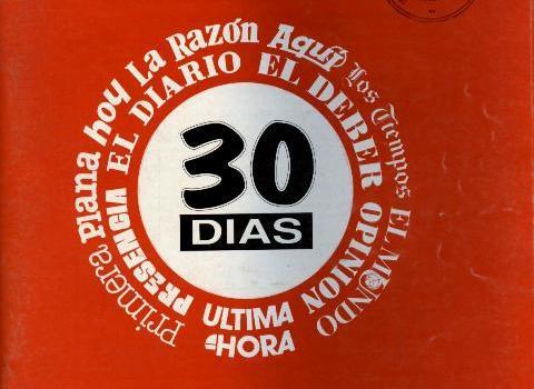 30 Días. Correo hemerográfico (Junio 1992)