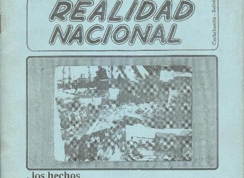 Resumen de la Realidad Nacional (Enero 1987)
