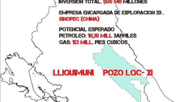 Lliquimuni marca expansión de frontera hidrocarburífera en Bolivia (5.1.15)