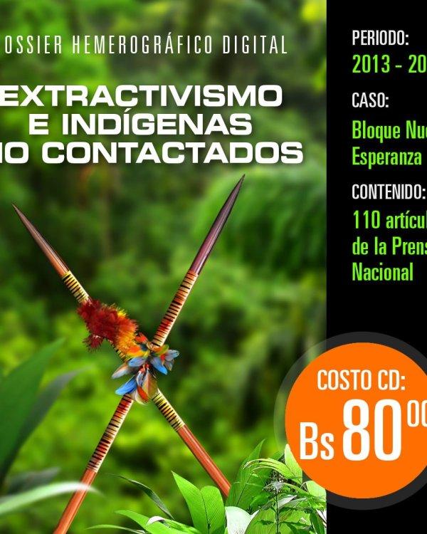 Extractivismo e indígenas no contactados: Base de datos hemerográfica