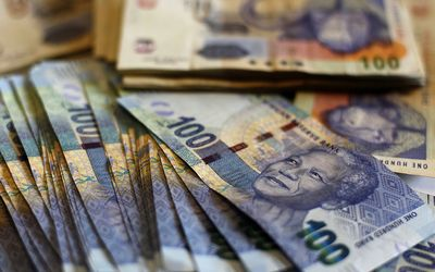 South African rand. Picture: REUTERS