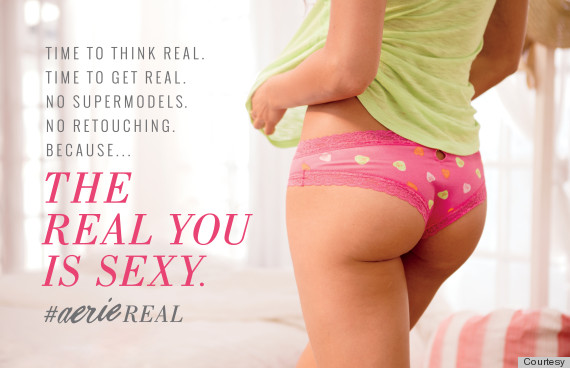 The real you is sexy - #AerieReal