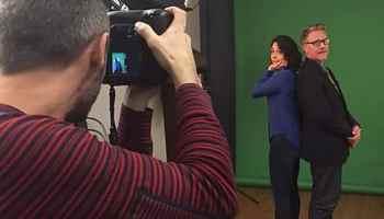 Cedric Doux - Shooting Photo avec Julia Vignali et Sébastien Demorand