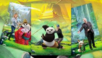 Les acteurs vedettes du doublage français de Kung Fu Panda 3