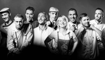 Photo de groupe pour la promotion des Rabelais des Jeunes Talent