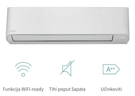 Klima uređaj A++/A+ Toshiba SEIYA R32