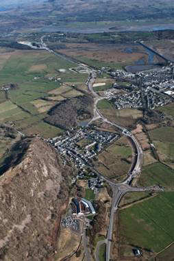 Aerial Shot of Bypass