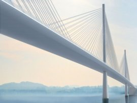 Forth - artist impression - cable stayed bridge2