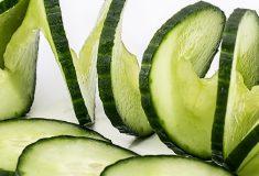 zielony ogórek w kosmetyce