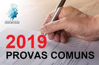PROVAS COMUNS 2018/2019
