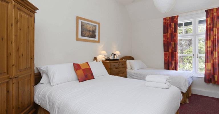 Double & Single Bedroom