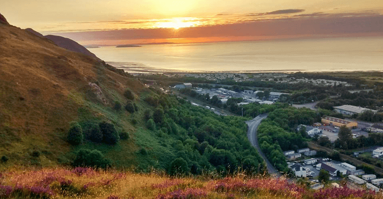 Conwy Mountain Sunset