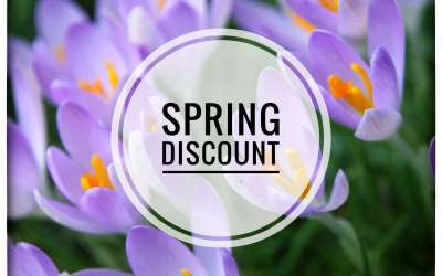 Spring Discounts!