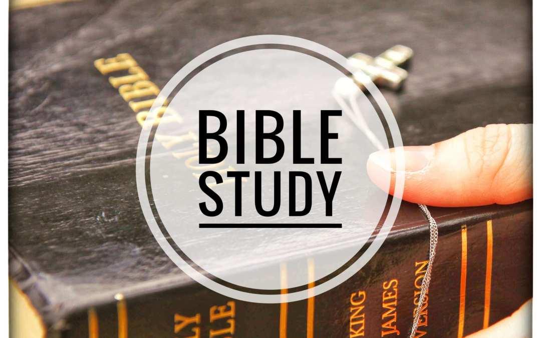 Bible Study (7-11 October)