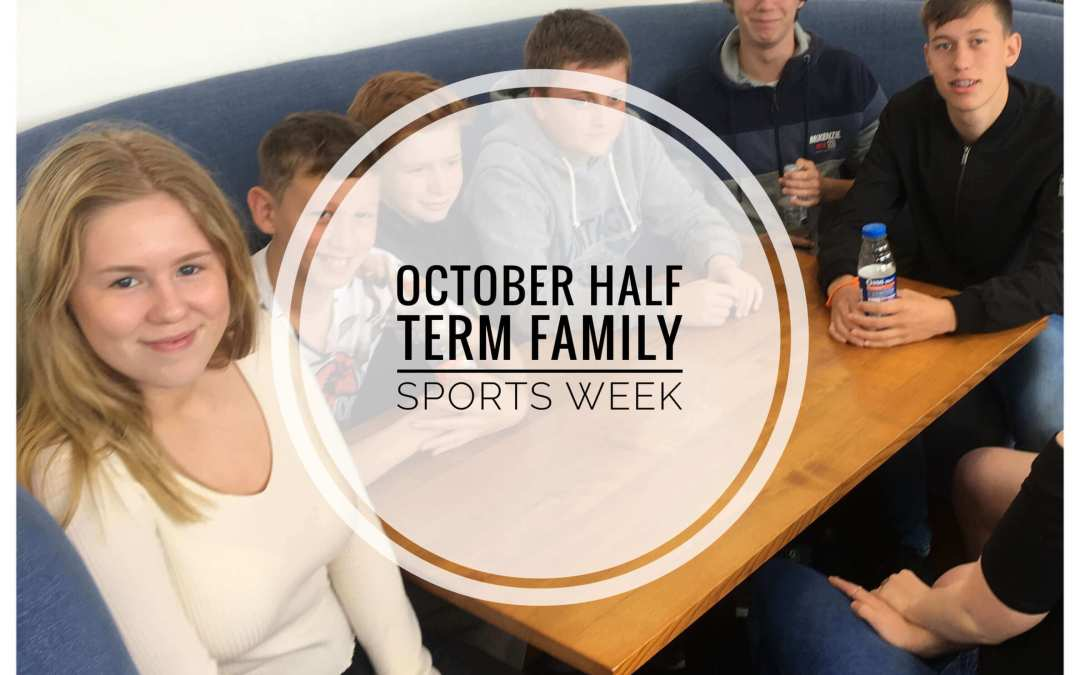 October Half-Term Family Sports Week